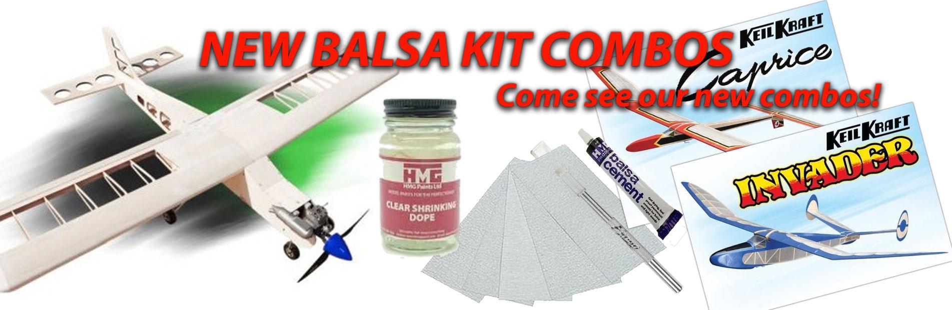 balsa kit combos