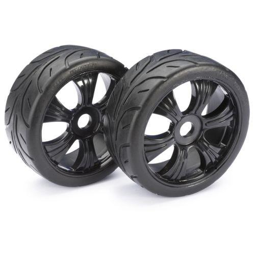 Absima Wheel Set LP Buggy Street black 1:8 x2 (2530003)