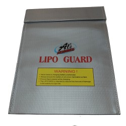 Alszone LiPo Safe Fire-proof Charging Bag 30cm x 23cm (38611)