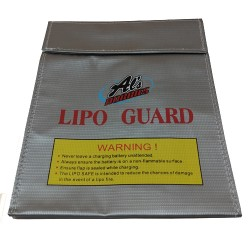 Alszone LiPo Safe Fire-proof Charging Bag 23cm x 18cm (38612)