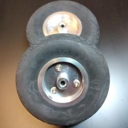 AlsZone Air Wheels (Ali Hub)  2.75 inch D70mm x Hole 3.5mm x H23mm (PK2) (HY006-01201)