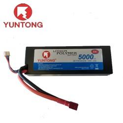 Yuntong 5000mAh 2S 7.4v 35C LiPo with Deans (YT9144121E)