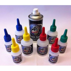 AlsZone Super Glue 50g Bottle - Foam Safe (3790)