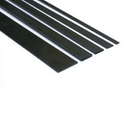 J Perkins Carbon Flat Strip 1mm x 5mm x 1m