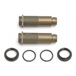 Team Associated RC8 Threaded Rear Shock Body With Collars And O-Rings (AS89051)