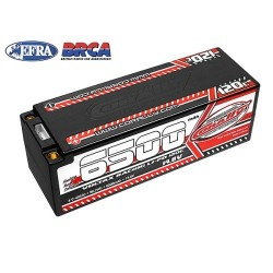 TEAM CORALLY VOLTAX 120C LIPO BATTERY 6500MAH 14.8V  (C-49530)