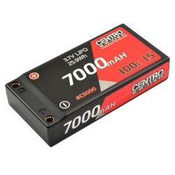 CENTRO 1S 7000MAH 3.7V 100C HARDCASE LIPO BATTERY (C5000)