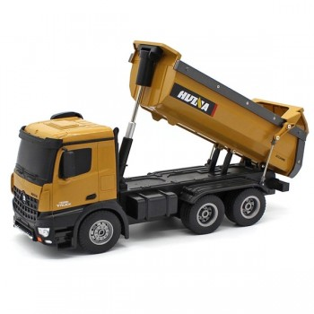 HUINA RC TIPPER TRUCK 2.4G 10CH 6x4 w/DIE CAST CAB BUCKETS (CY1573)
