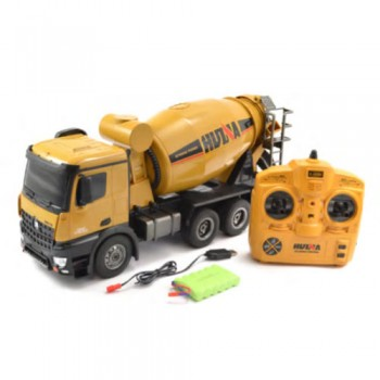 HUINA 1:14 10-Function Mixer Truck  (CY1574)