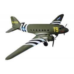 DYNAM C47 DAKOTA TWIN USAF 1470MM w/o TX/RX/BATT (DYN8931G)