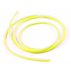 ETRONIX 12swg SILICONE WIRE YELLOW (100cm) (ET0670Y)