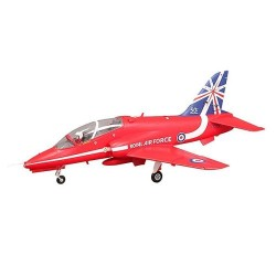 FMS 1042MM RED ARROW BAE HAWK 80MM EDF ARF REFLEX PNP (FMS099P-REF)
