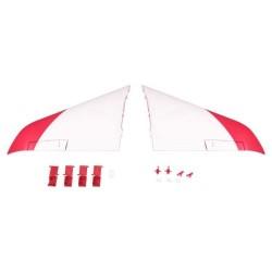 FMS 90MM SUPER SCORPION MAIN WING SET RED (FMSRA102R)
