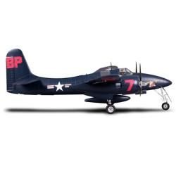 FMS 1700MM F7F TIGERCAT BLUE ARTF WARBIRD w/o TX/RX/BATT (FS0231B)