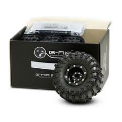 GMADE 2.2 G-AIR SYSTEM WHEELS TYRES and PUMP (SET OF 4)  (GM70080)