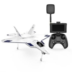 HUBSAN F22 FPV JET W/AUTO TAKE OFF GPS RTH 720P & SCREEN (H-F22HIGH)