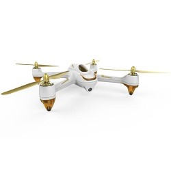 HUBSAN 501S X4 WHITE FPV DRONE W/GPS 1080P, 1KEY, FOLLOW ME and HEADLESS  (H501S-W)