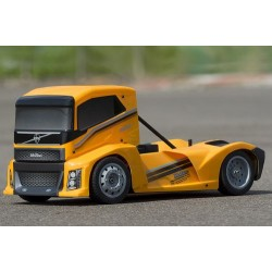 HOBAO HYPER EPX 1/10 CAB TRUCK ROLLER W/YELLOW BODY (HB-GPX4E-Y)