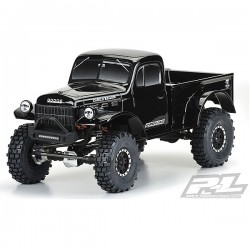 PROLINE 1946 DODGE POWER WAGON TOUGH COLOUR BLACK 313MM CRAWL (PL3499-18)