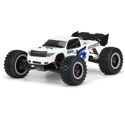 PROLINE PRECUT BASH ARMOR BODY WHITE FOR ARRMA KRATON 8S (PL3548-15)