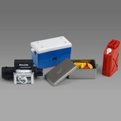 Pro-Line Scale Accessory Set '1 CoolerWinch + Box Gas Can (PL6040-00)