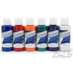 PROLINE RC BODY PAINT PEARL BLUE/RED/ORANGE/GREEN/PURP/WHI (PL6323-06)