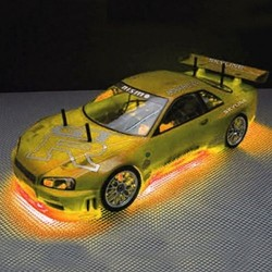 RC Neon Orange Under Car Lighting Kit  (RC200O)