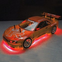 RC Neon Red Under Car Lighting Kit  (RC200R)