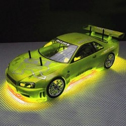 RC Neon Yellow Under Car Lighting Kit  (RC200Y)