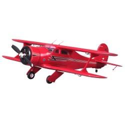 ROC HOBBY BEECHCRAFT RED ARTF W/O TX/RX/BATT  (ROC013)