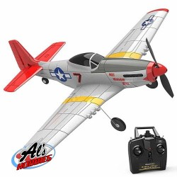 VOLANTEX P-51D MUSTANG 4CH 400MM BRUSHED with GYRO EPP RTF (V761-5)