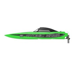 VOLANTEX ATOMIC SR85 BRUSHLESS BOAT (NO BATT)- GREEN (V798-3)