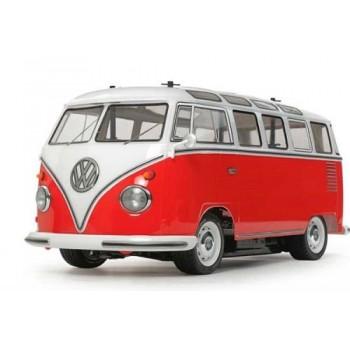 Tamiya VW TYPE 2 (T1)RED & WHITE PAINTED (47420)