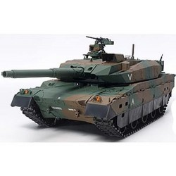 TAMIYA R/C TRUCKS JGSDF TYPE 10 TANK W OPTION KIT (56037)