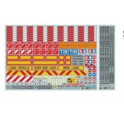 TAMIYA 1/14 TRACTOR TRAILER STICKER (56534)