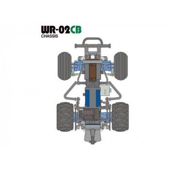 TAMIYA COMICAL GRASSHOPPER WR-02CB (58662)
