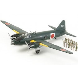TAMIYA G4M1 Yamamoto with 5 figures (61110)
