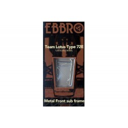 EBBRO METAL FRONT SUB FRAME FOR LOTUS 72E (E62001)