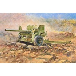 ZVESDA BRITISH 6 lb MK-1 GUN   RE RELEASE (Z3518)