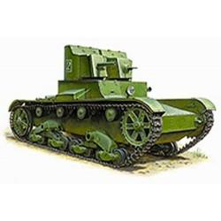ZVESDA SOVIET TANK T-26 (TWIN TURRET)REREL (Z3542)