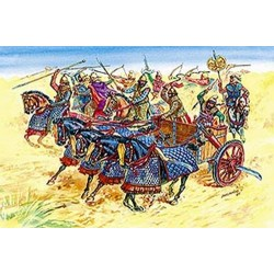 ZVESDA PERSIAN CHARIOT AND CAVALRY (Z8008)