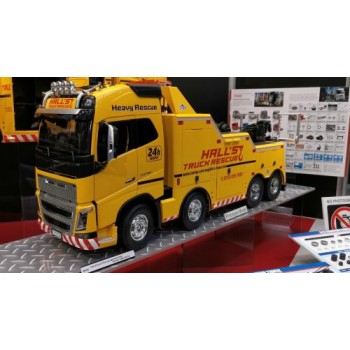 TAMIYA VOLVO FH16 8x4 GLOBETROTTER 750 TOW TRUCK (56362)