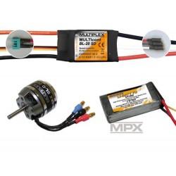 Multiplex Power Set/Battery Panda Sport 333662 (25333662) (MPX333662)