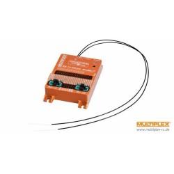 Multiplex WINGSTABI 12-channel 3-axis Gyro Dual-Rx 35A battery backer (55016 2555016) (MPX55016)