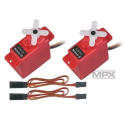 Multiplex Aileron Upgrade Set Easystar II 65162 (2565162) (MPX65162)