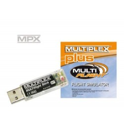 Multiplex MULTIflight Sim Dongle And Cd Plus 85165 (2585165) (MPX85165)