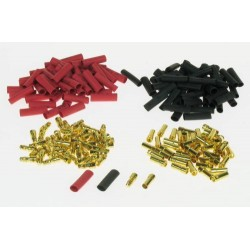 3.5mm Gold Connector Bulk (50 Pairs + Shrink 4409125)