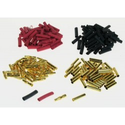 4mm Gold Connector Bulk (50 Pairs + Shrink 4409130)