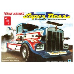 1:25 Tyrone Malone Kenworth Super Boss Drag Truck (AMT930)