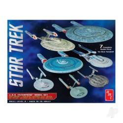 AMT 1:2500 Star Trek U.S.S. Enterprise Box Set - Snap (AMT954)